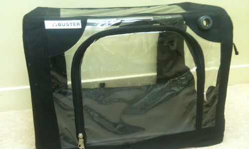 The Oxygen tent which saved Wobbles life & Animal Care Society Cork